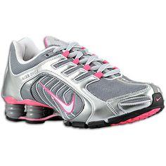 Nike Shox Navina SI - Women\u0026#39;s - Wolf Grey/Black/Fireberry/Anthracite