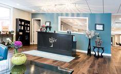 Elavina Salon and Spa...I really like the Window behind the reception area hmmmm