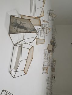 Block Gallery Constructs, 2014 artist Sarah West, Mapping the Dispersal - 2011