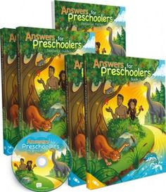 Answers for Preschoolers Curriculum from Answers in Genesis  Preschool Curriculum for ages 4-5