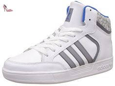 adidas Varial Mid, Montantes Garçon, Blanc (Ftwr White/Grey/Bluebird), 38 EU - Chaussures adidas (*Partner-Link)