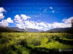 Deuteronomy 31:6#bibleverse #christianart #photography