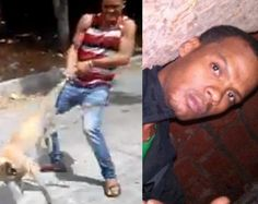 Yeison Garcia posted on his Facebook wall a video of him mistreating a stray dog just for fun. The video was posted on Septe... GET A JOB ASSHOLE!!! COWARD!!!