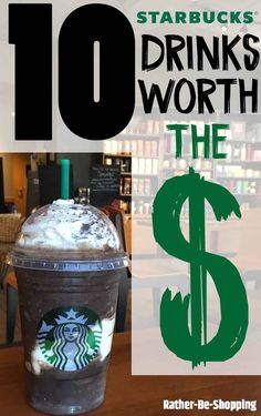 The 10 Starbucks Prices That Actually Make Their Coffee Affordable - Finance tips, saving money, budgeting planner Starbucks Drink Prices, Starbucks Hacks, Starbucks Menu, Starbucks Recipes, Coffee Recipes, Best Money Saving Tips, Ways To Save Money, Saving Money, How To Make Money
