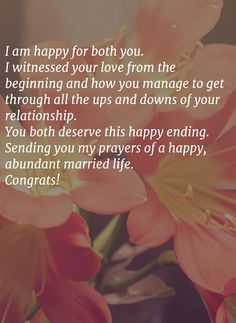Best 40 Wedding Card Messages | WishesGreeting