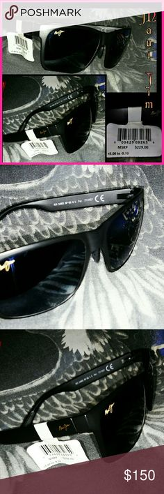 NWT Maui Jim sunglasses rx-able Only selling because we need the money right now. Never been worn. In EXCELLENT CONDITION and they are RX able Accessories Glasses