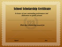 Get most beautiful School Scholarship Certificates from here. The best performer will proud by himself on acquiring this certificate of academic excellence. Printable Certificates, Certificate Templates, School Scholarship, School Days, Image Search, School Certificate, Templates Free, Bowling, Free Stencils