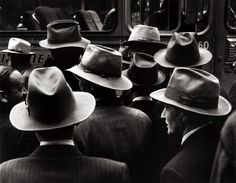 """Hats"" by William Heick, 1951"