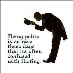 British manners...... ♥♥ ....