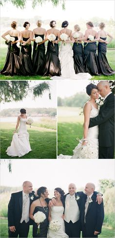 46) I like all of these poses. The last one I would like with all of the bridesmaids, Best man, bride and groom.