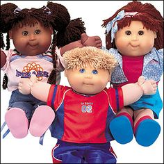 Cabbage Patch Doll Originals - I remember a mom ripping one out of my young hands at Target when they first came out...:(