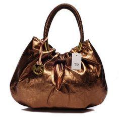 Price:$66.67  Michael Kors Marina Logo Large Bronze Drawstring Bags  http://www.officialmichaelkorsshop.com/
