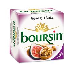Boursin with figs and nuts