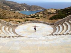 * Ios, Greece | The Odysseas Elytis Theatre | Sara Russell