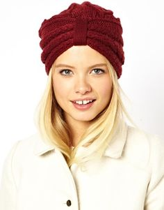 ASOS Cable Turban Hat ... Just ordered this...... yup. MERRY CHRISTMAS TO ME! ^_^