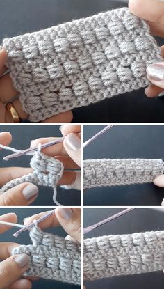 This quick free video tutorial covers how to make the popular and the beautiful crochet bead stitch. Not only is the gorgeous bead stitch easy and exciting to make, but it works well for so many projects such as a homemade gift for your loved ones. Beau Crochet, Quick Crochet, Tunisian Crochet, Crochet Stitches Patterns, Crochet Basics, Learn To Crochet, Single Crochet, Free Crochet, Knitting Patterns