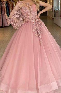 Floral Prom Dresses, Cheap Prom Dresses, Formal Dresses, Dress Meaning, Make Color, Ball Gowns, One Shoulder, 3d, Flower