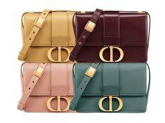 "Will the 30 Montaigne Dior Handbag become the new ""It"" Bag ? Luxury Bags, Luxury Handbags, Designer Handbags, Dior Saddle Bag, Saddle Bags, Dior Handbags, Dior Bags, Sac Lady Dior, Handbags For School"