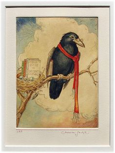 The educated raven