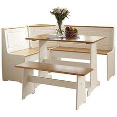 3-Piece Ardmore Breakfast Nook Set $280