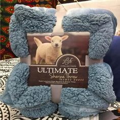 Svetanya Large Warm Thick Sherpa Throws Blanket weighted Coverlet for Bed or Couch