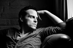 Andrew Scott: I know he's the villain on Sherlock and all, but I still found him oddly attractive, even with his crazy antics...