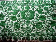 hungarian folk embroidery