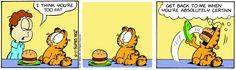 Garfield | Daily Comic Strip on November 5th, 1997
