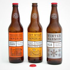 NoLi Imperial Series bottles designed by Riley Cran.