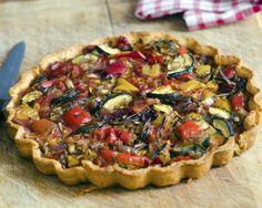 Tarta cu legume de vara in loc de pizza!