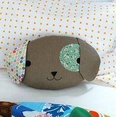Como hacer almohadones infantiles con forma de perrito