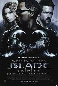 Blade: Trinity (2004): Blade, now a wanted man by the FBI, must join forces with the Nightstalkers to face his most challenging enemy yet: Dracula #movie