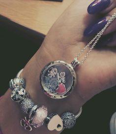 Memeries petite and bracelet --> all in rose color <3