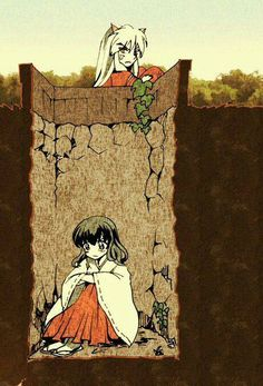 Uploaded by Find images and videos about anime, kawaii and fan art on We Heart It - the app to get lost in what you love. Inuyasha Funny, Inuyasha Fan Art, Inuyasha Cosplay, Inuyasha And Sesshomaru, Kagome And Inuyasha, Inuyasha Memes, Miroku, Kagome Higurashi, Manga Anime