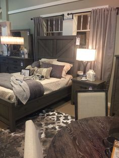 What do you think about this grey rustic contemporary bedroom set? Do you think it would blend in with your existing decor? Rustic Grey Bedroom, Grey Bedroom Set, Modern Rustic Bedrooms, Contemporary Bedroom Sets, Contemporary Interior Design, Rustic Contemporary, Contemporary Architecture, Wood Bedroom, Interior Modern