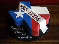 Miss Texas Pageant Cake