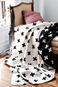 Pinch your pennies. Buy here: http://www.piawallen.se/shop/blankets/cross/cross-blanket-1