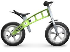 - Designed for children ages 18 months to 5. - Lightweight at just 7.7 pounds. - Rear wheel drum/hand brake adds 0.7 pounds. - Adjustable rubber saddle seat grows from 13.8 inches to 17.8 inches tall.