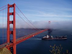 Golden Gate Bridge in San Francisco, CA.  The walk across should be on everyone's bucket list!