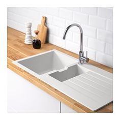 boholmen 2 bowl inset sink with drainer ikea 25 year guarantee read about the terms in the. Black Bedroom Furniture Sets. Home Design Ideas