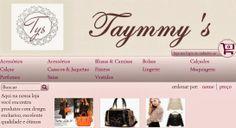 Demi Andrade: Loja Taymmy's - Roupas e acessórios femininos