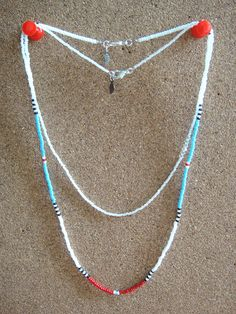 Seed Bead Jewelry Multi Strand Necklace Friendship by lapuzelo, $15.00