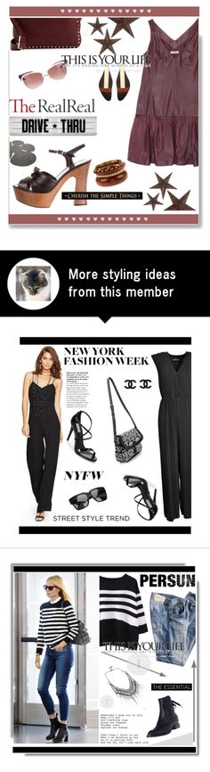 """Jet Set Style With DJ Mia Moretti & The RealReal: Contest Entry"" by soks on Polyvore featuring Nina Ricci, Yves Saint Laurent, Valentino, jcp, DutchCrafters and Marni"