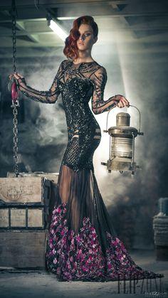 Charbel Zoe Fall-winter 2014-2015 - Couture - http://www.orientpalms.com/charbel-zoe-4849