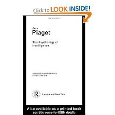 Piaget: Psychology of Intelligence