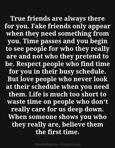 Heartfelt  Love And Life Quotes: True friends are always there for you.