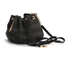 Deux Lux Coquette Drawstring in black