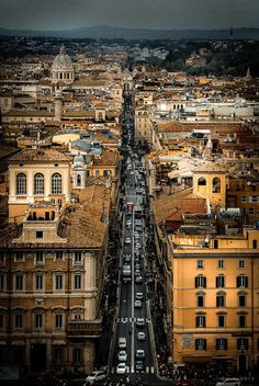 A great view of Rome, Italy