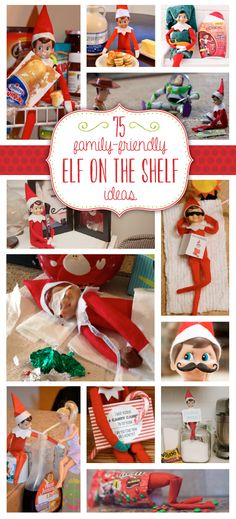 more elf on a shelf!