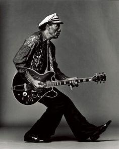 Legendary guitarist, singer and songwriter, Chuck Berry (b. Oct. 18, 1926)